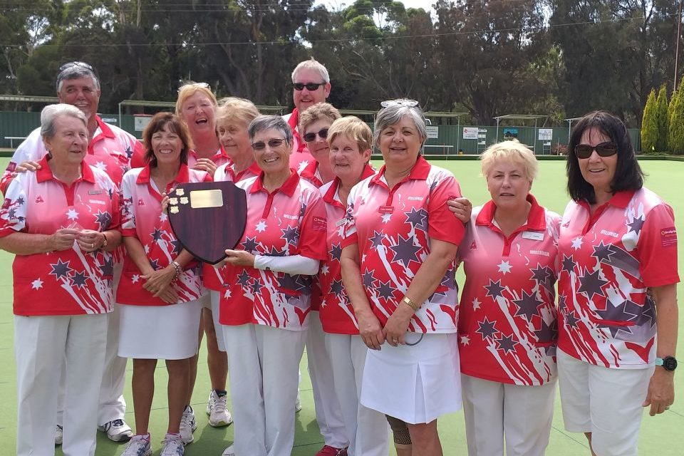 Well done Willunga Ladies Bowls!