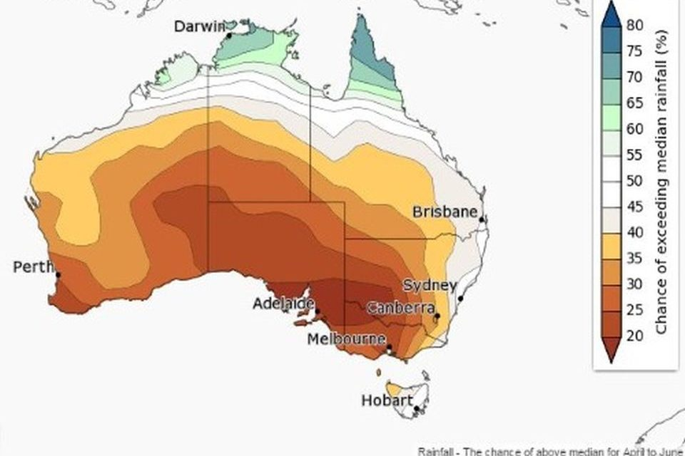 Get set for a hot, dry autumn – BOM