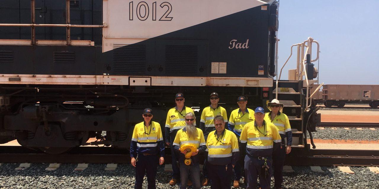 Rail workers ask R U OK?