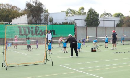 Willunga Tennis Club bounces back!