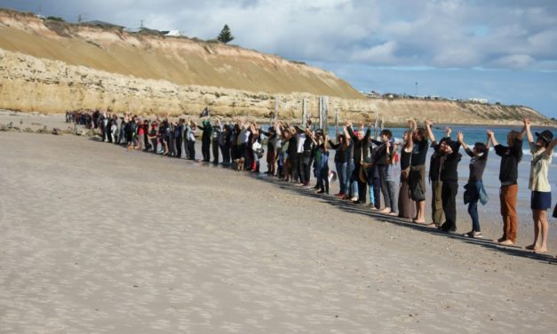 Hands Across The Sand in May