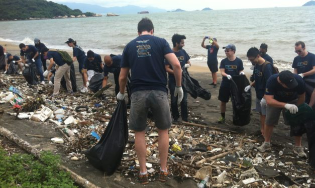 SEA SHEPHERD'S BEACH CLEAN-UP DAY