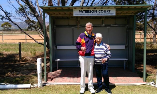 New croquet court dedicated in Aldinga