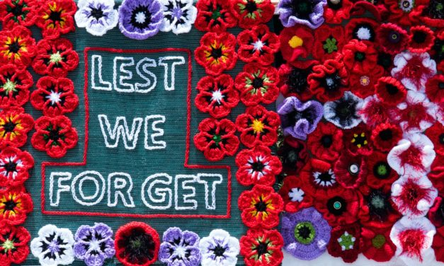 An Anzac Day with a difference