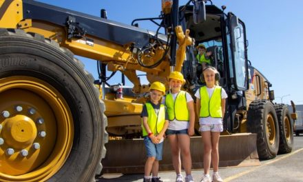 Truck-loads of fun for the kids