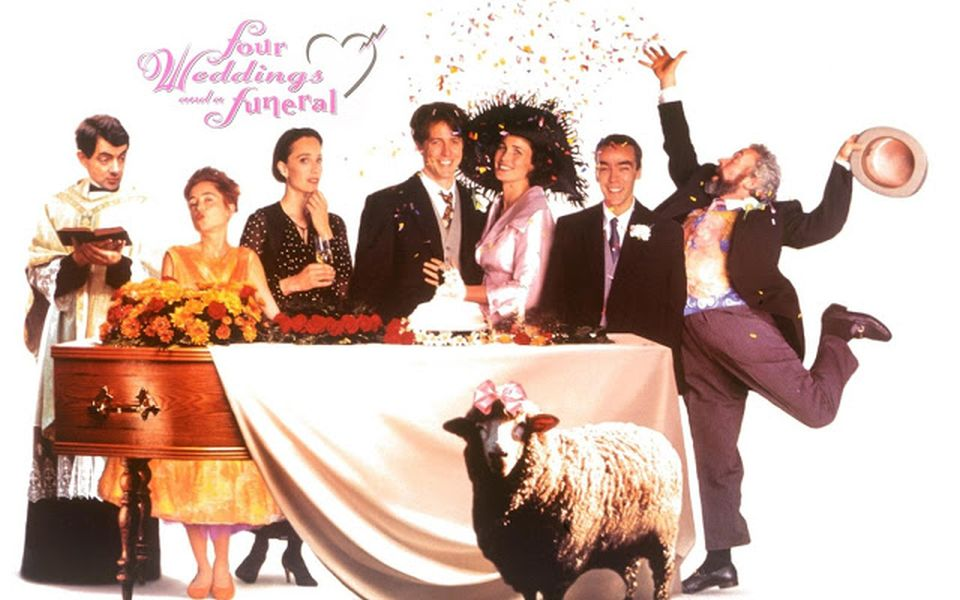 FOUR WEDDINGS AND A FUNERAL!